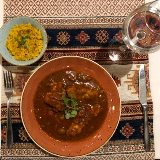Moroccan Spicy Fish – by Two O'Six Mediterranean Kitchen, Tanzania